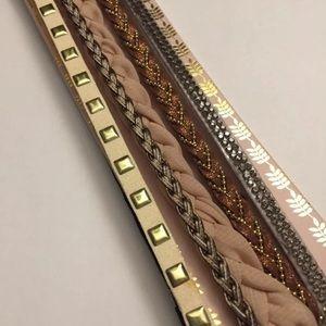 Jewelry - Boho bangle and headband bundle